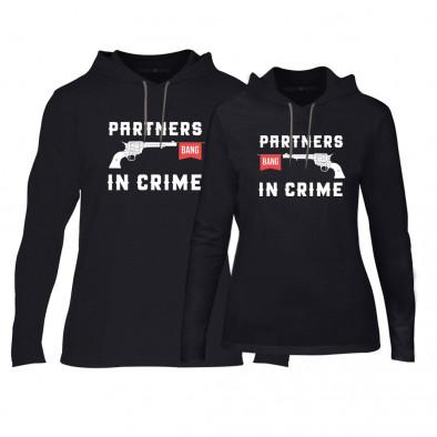 Суичъри за двойки Partners in Crime в черно TMN-CPS-081 2