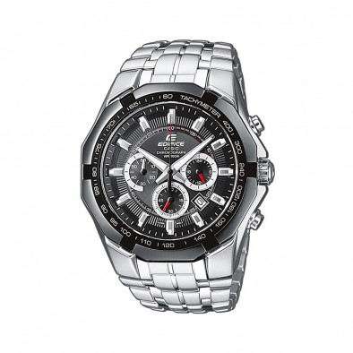 Мъжки часовник Casio Edifice сребрист браслет класически модел