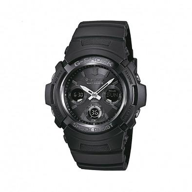 Мъжки спортен часовник Casio G-SHOCK черен с радио сверяване