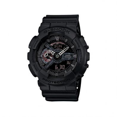 Мъжки спортен часовник Casio G-SHOCK черен с таймер за обратно броене