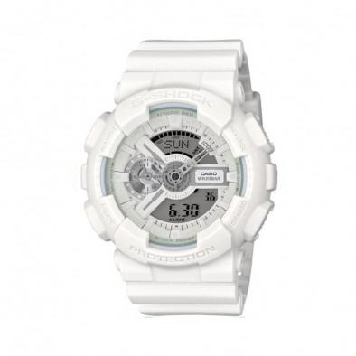 Мъжки спортен часовник Casio G-SHOCK бял изчистен модел