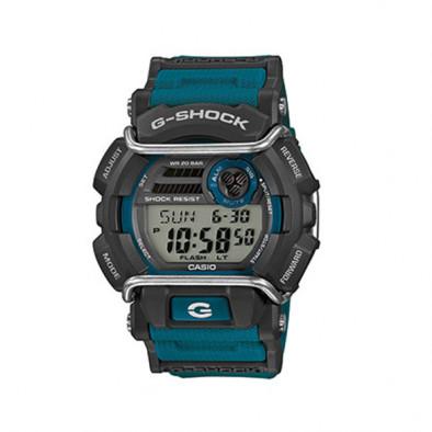 Мъжки спортен часовник Casio G-SHOCK черен с аларма на всеки час