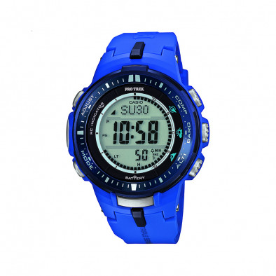 Мъжки часовник Casio Pro Trek син с радио сверяване