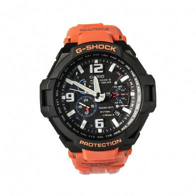 Мъжки спортен часовник Casio G-SHOCK оранжево-черен