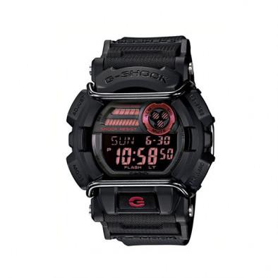 Мъжки спортен часовник Casio G-SHOCK черен с LED осветление на дисплея