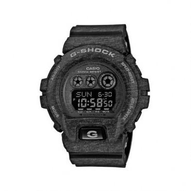 Мъжки спортен часовник Casio G-SHOCK тъмно сив със захабен ефект