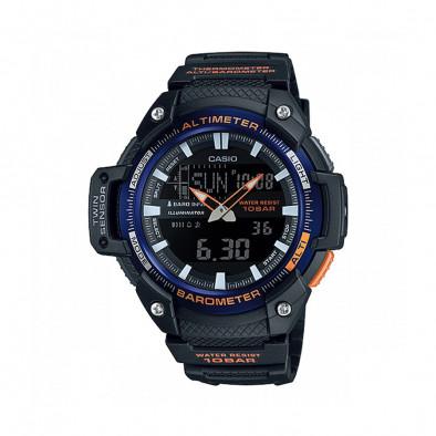 Мъжки часовник Casio Outdoor черен с осветление