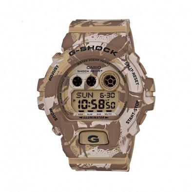 Мъжки спортен часовник Casio G-SHOCK бежов камуфлаж