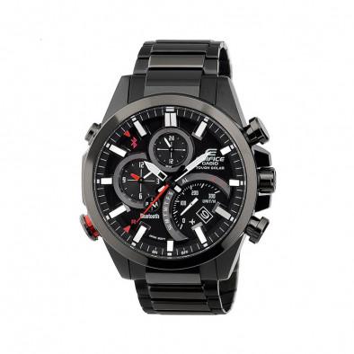 Мъжки часовник Casio Edifice черен браслет с функция за намиране на телефона