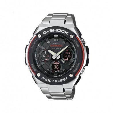 Мъжки часовник Casio G-SHOCK браслет сива стомана