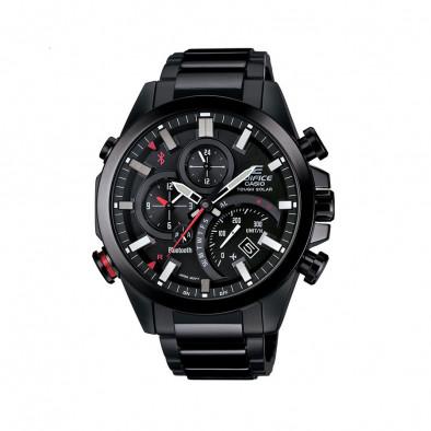 Мъжки часовник Casio Edifice черен браслет със самолетен режим