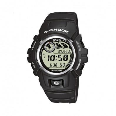 Мъжки спортен часовник Casio G-SHOCK сив с автоматичен календар