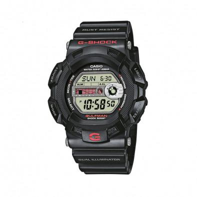 Мъжки спортен часовник Casio G-SHOCK черен устойчив на ниски температури