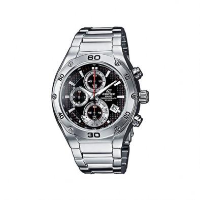 Мъжки часовник Casio Edifice сребрист браслет от стомана