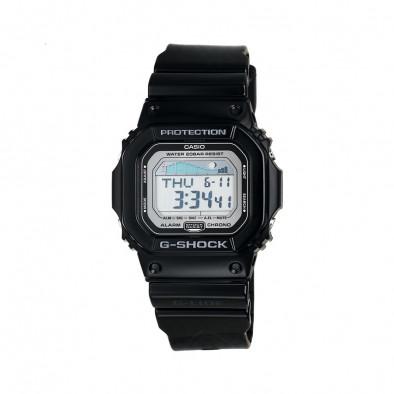 Мъжки часовник Casio G-SHOCK черен с правоъгълен циферблат