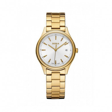 Мъжки часовник DOXA Tradition златист браслет