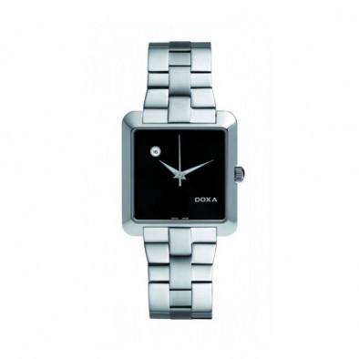 Мъжки часовник DOXA Grafic сребрист браслет с автоматична дата