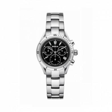 Мъжки часовник DOXA Trofeo сребрист браслет със сребристи стрелки