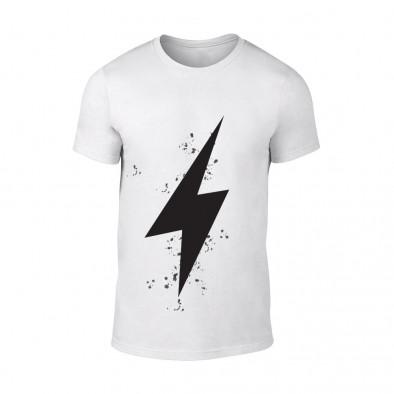 Мъжка бяла тениска Thunder TMN-M-101 2
