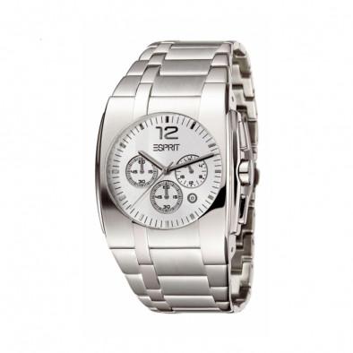 Мъжки часовник Esprit сребрист браслет с автоматична дата