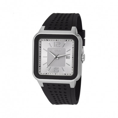 Мъжки часовник Esprit черна каучукова каишка
