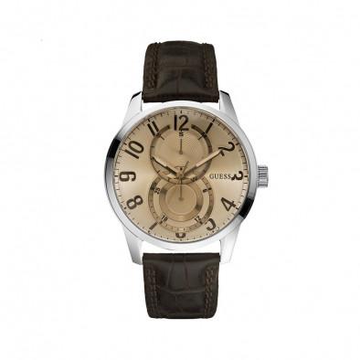 Мъжки часовник Guess със златист циферблат