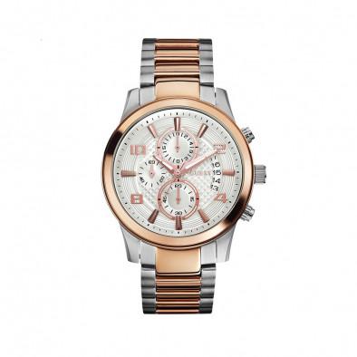 Мъжки часовник Guess браслет в два цвята