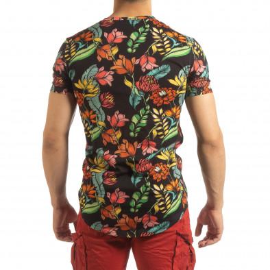 Колоритна мъжка флорална тениска it090519-59 4