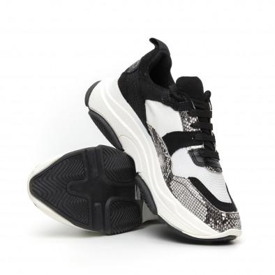 Дамски комбинирани маратонки Chunky дизайн it110919-9 4