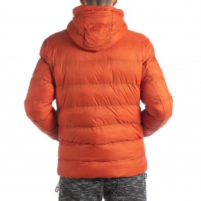 Мъжка пухенка в оранжево it051218-69 5