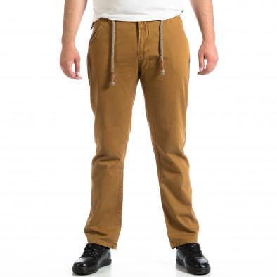 Мъжки панталон House в цвят камел lp290918-154 2