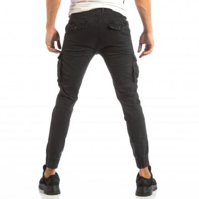 Рокерски сив панталон карго джогър it240818-8 4