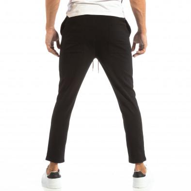 Лек мъжки панталон тип Jogger в черно it240818-67 3