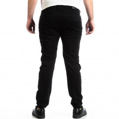 Мъжки черен панталон House тип Jogger lp290918-156 3