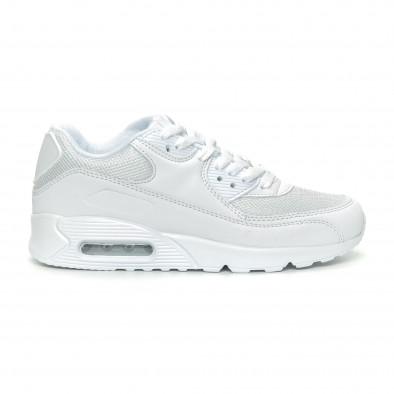 Дамски маратонки с въздушна камера в бяло it150319-53 2