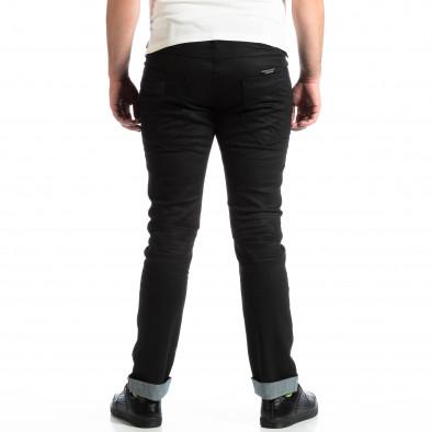Мъжки Slim Jeans CROPP в черно с маншети lp290918-149 3