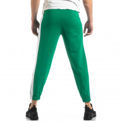 Мъжко зелено долнище с кант it210319-55 4