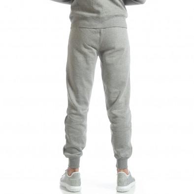Basic мъжко долнище в сиво it051218-29 3