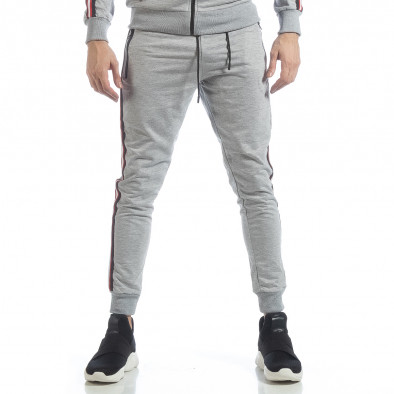 5 striped мъжко сиво долнище it040219-62 3