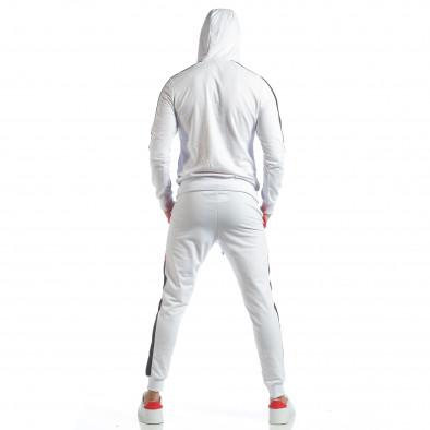 Бял мъжки спортен комплект с ленти ss-NB-11A-NB-11B 6