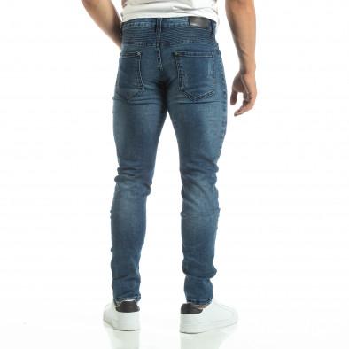 Мъжки рокерски дънки в синьо it120619-6 4