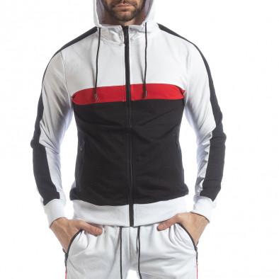 Бял мъжки спортен комплект с ленти ss-NB-11A-NB-11B 4