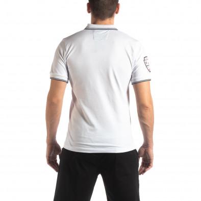 Мъжка тениска polo shirt Royal cup в бяло it210319-75 3