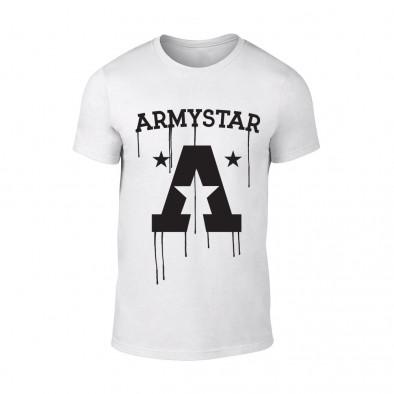 Мъжка бяла тениска Armystar TMN-M-073 2