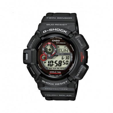 Мъжки спортен часовник Casio G-SHOCK черен устойчив на замърсяване