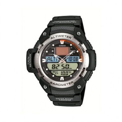 Мъжки часовник Casio Outdoor с аналогов и дигитален циферблат