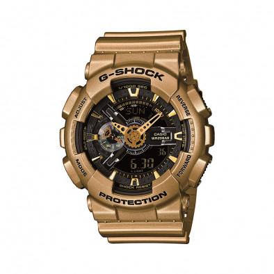 Мъжки спортен часовник Casio G-SHOCK златист с черен циферблат