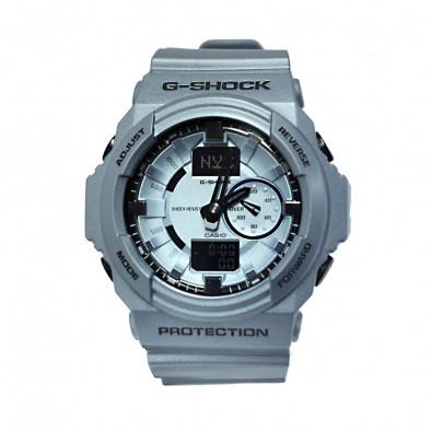 Мъжки спортен часовник Casio G-SHOCK сребристо син