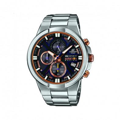 Мъжки часовник Casio Edifice сребрист браслет Infiniti Red Bull Racing