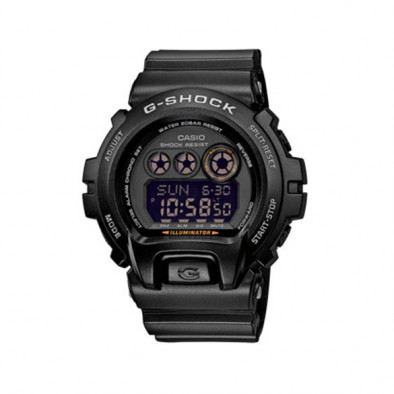 Мъжки спортен часовник Casio G-SHOCK черен с черен дисплей